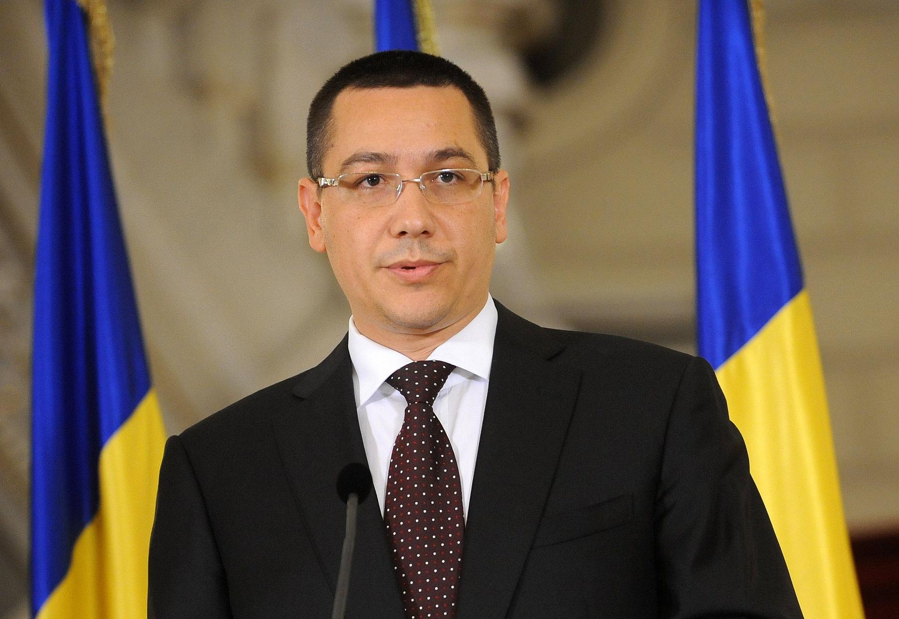 Ponta: CAS scade cu 5 puncte din octombrie. Nu creştem taxe sau impozite