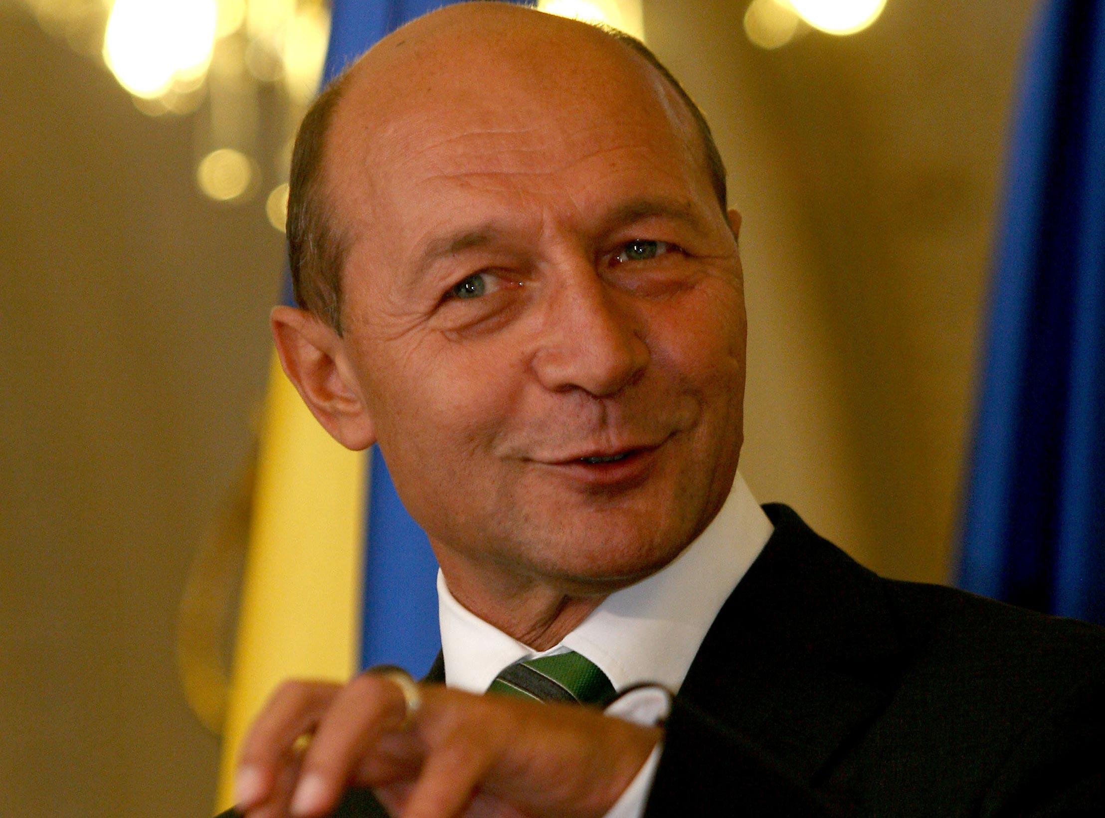Traian Băsescu a transmis un mesaj de felicitare preşedintelui ales al Israelului, Reuven Rivlin