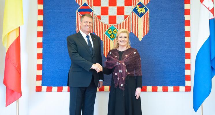 Iohannis a vorbit despre cazul Ponta în Croația: Speța este tristă