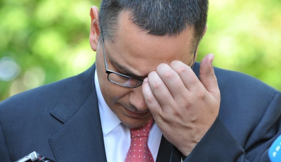 Cât de sumbru se anunță viitorul politic al lui Victor Ponta după votul pentru MRU