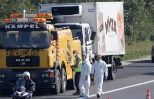 Imigranți decedați in camionul morții Cei patru suspecți au fost arestați