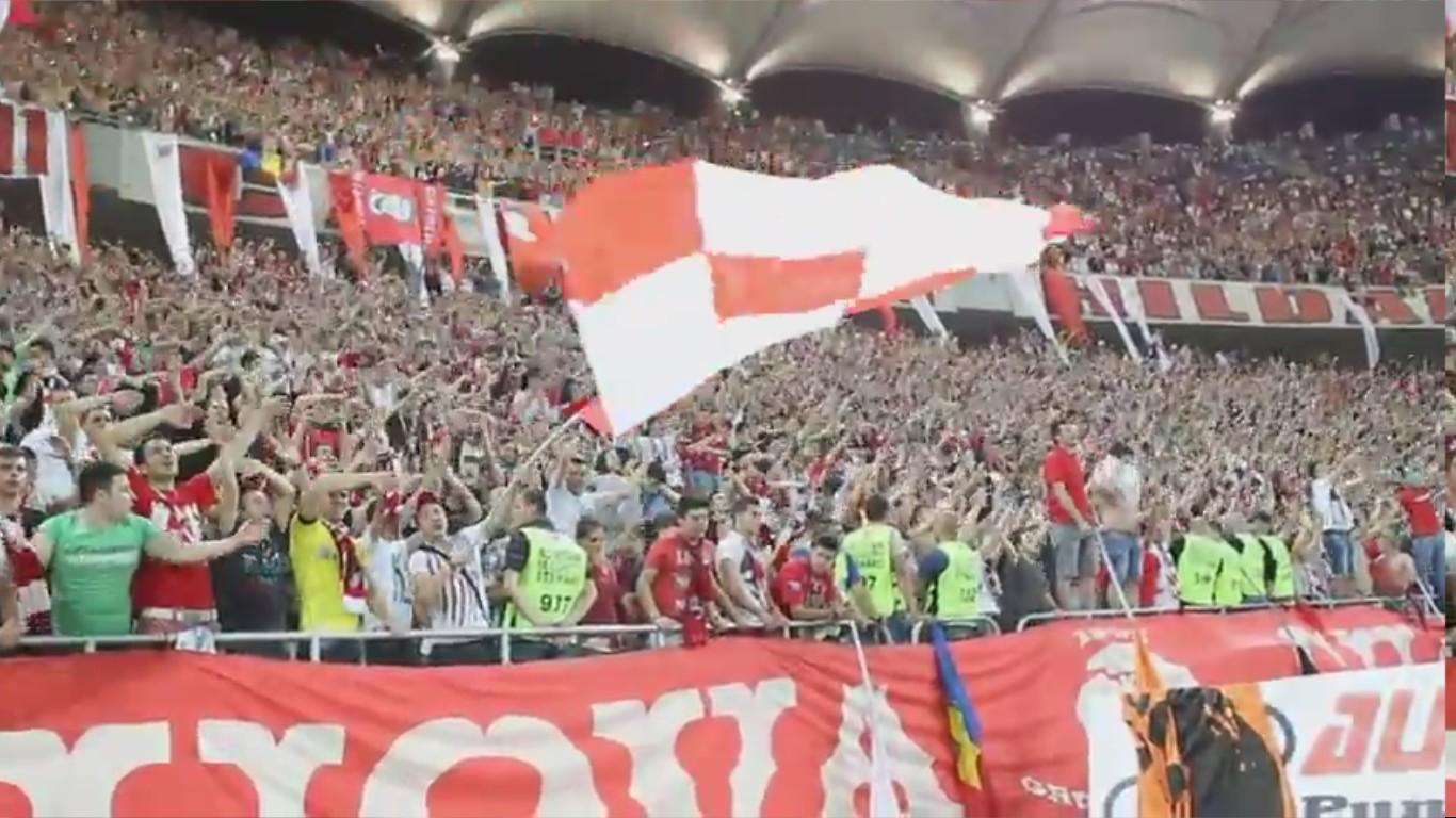 Meci oprit din cauza scandărilor xenofobe ale fanilor dinamovişti