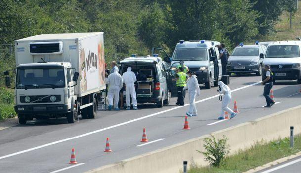 Austria: Descoperire macabră în camionul unui român