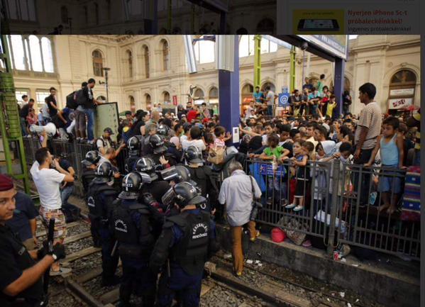 Criza imigranților. Gara de Est din Ungaria a fost redeschisă