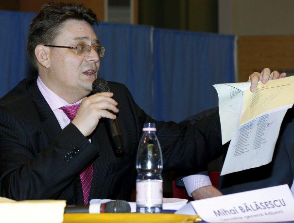 Cu câtă viclenie a fost atras liberalul Bălășescu în capcana morții