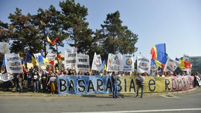 Incidente la mitingul unionist de la Neptun, la ședința comună România-Moldova