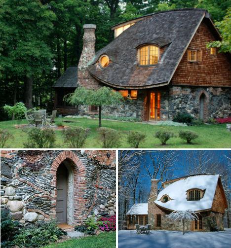8 case desprinse din pove ti for Piani di casa cottage storybook