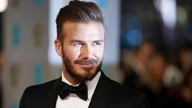 David Beckham este cel mai sexy bărbat în viață