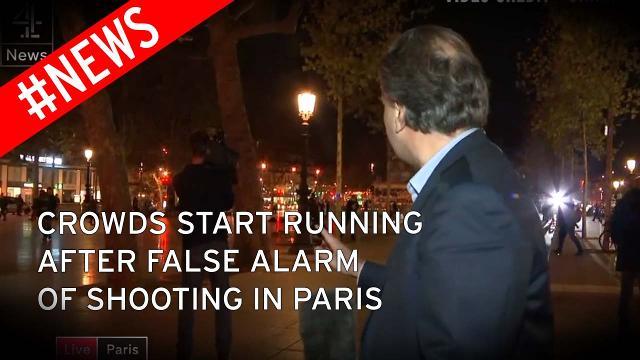 FRANCEZII, ÎNCĂ TERORIZAŢI: Panică la Paris după o alarmă falsă