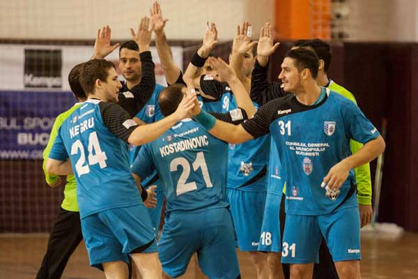După Dinamo, și CSM Bucureşti s-a calificatîn grupele unei competiţii europene de handbal masculin