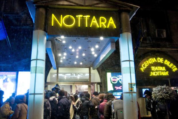 Teatrul Nottara din Bucureşti şi-a suspendat activitatea