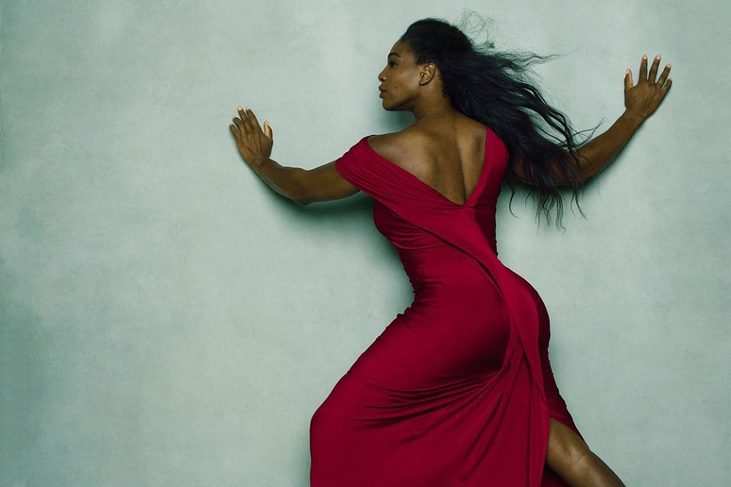 Serena Williams s-a dezbrăcat pentru noul calendar Pirelli 2016