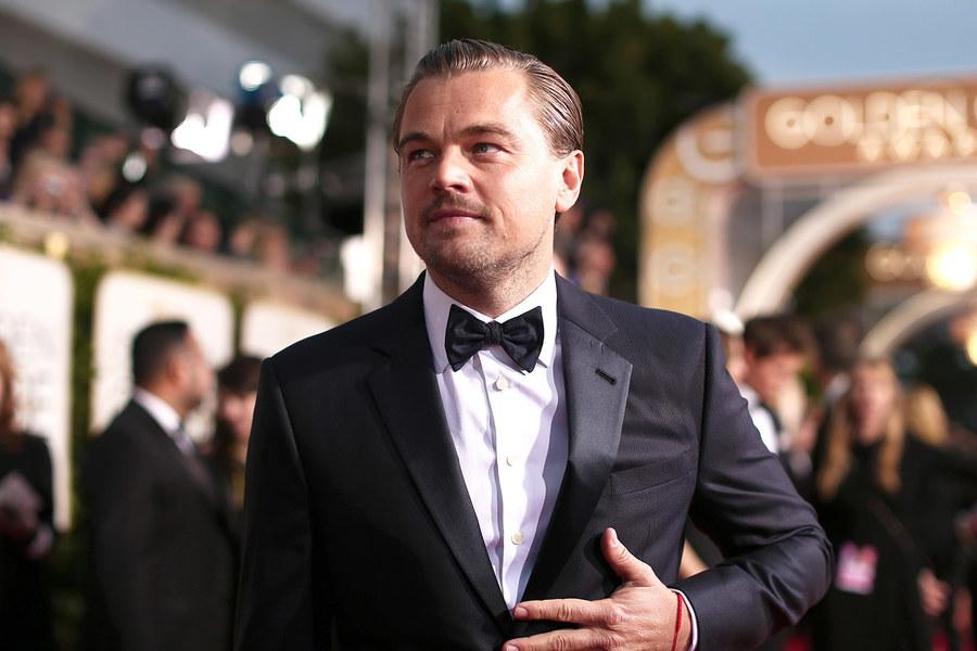 VIDEO Leonardo DiCaprio speriat de Lady Gaga la Globurile de Aur