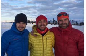 Tibi Ușeriu la Ultramaratonul de la Polul Nord