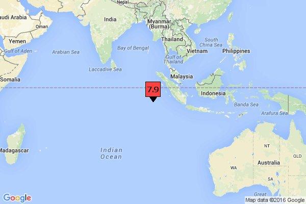 RISC DE TSUNAMI. Un cutremur de 7,9 grade a avut loc în Indonezia