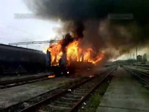 O persoană a murit în incendiul izbucnit aseară în Gara de Nord din Timișoara