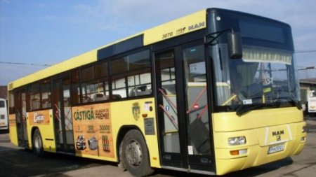 Un tânăr din Ploieşti a furat un autobuz