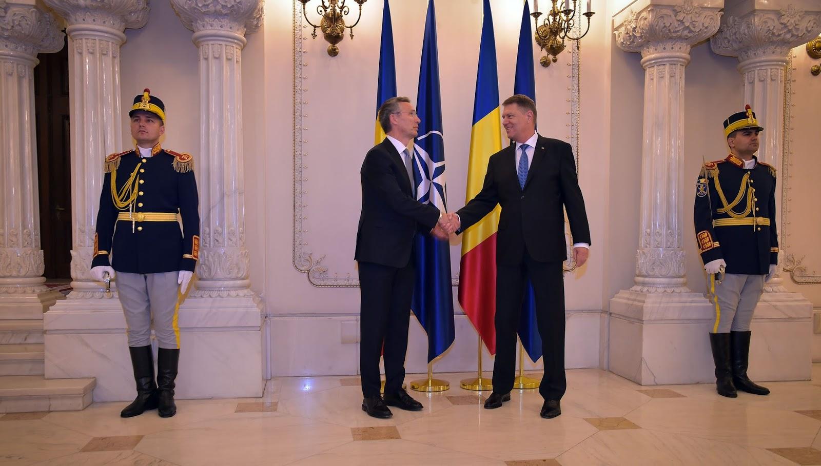 """Jens Stoltenberg, despre eforturile României în NATO: """"Contribuiți la securitatea noastră comună și la apărarea noastră colectivă"""""""