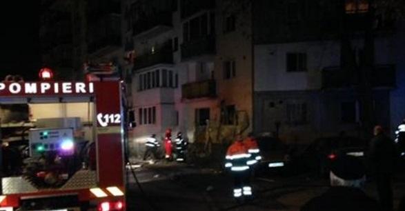 Explozie într-un bloc din Turda: O femeie a murit