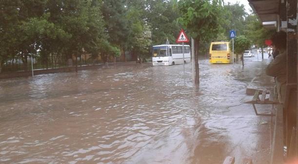 Dezastru la Tulcea din cauza ploii