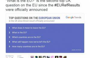 Dovada ca britanicii nu stiu ce au votat