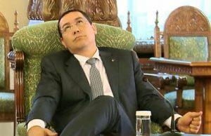 Victor Ponta nu a ințeles nimic din retragerea titlului de doctor