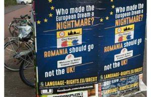 CONSECINTELE BREXIT Romanii alungați din Marea Britanie si din UE