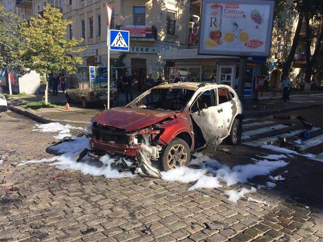 Un cunoscut jurnalist a fost asasinat în centrul capitalei Ucrainei