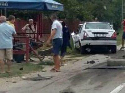 Accident grav cu o dubă: un mort și doi răniți