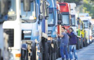 Proteste ale transportatorilor