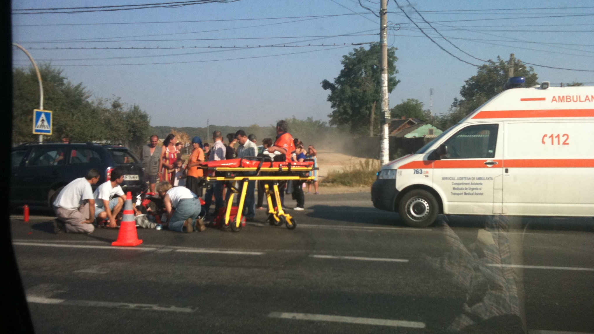 Accident pe DN1. Un biciclist a murit