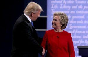Cateva impresii dupa dezbaterea dintre Clinton si Trump