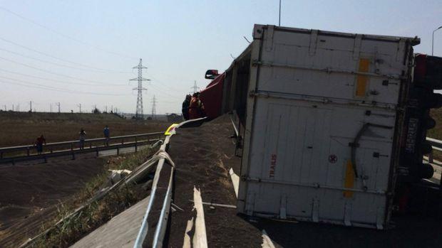 Accident grav pe Autostrada Soarelui. Traficul e blocat!