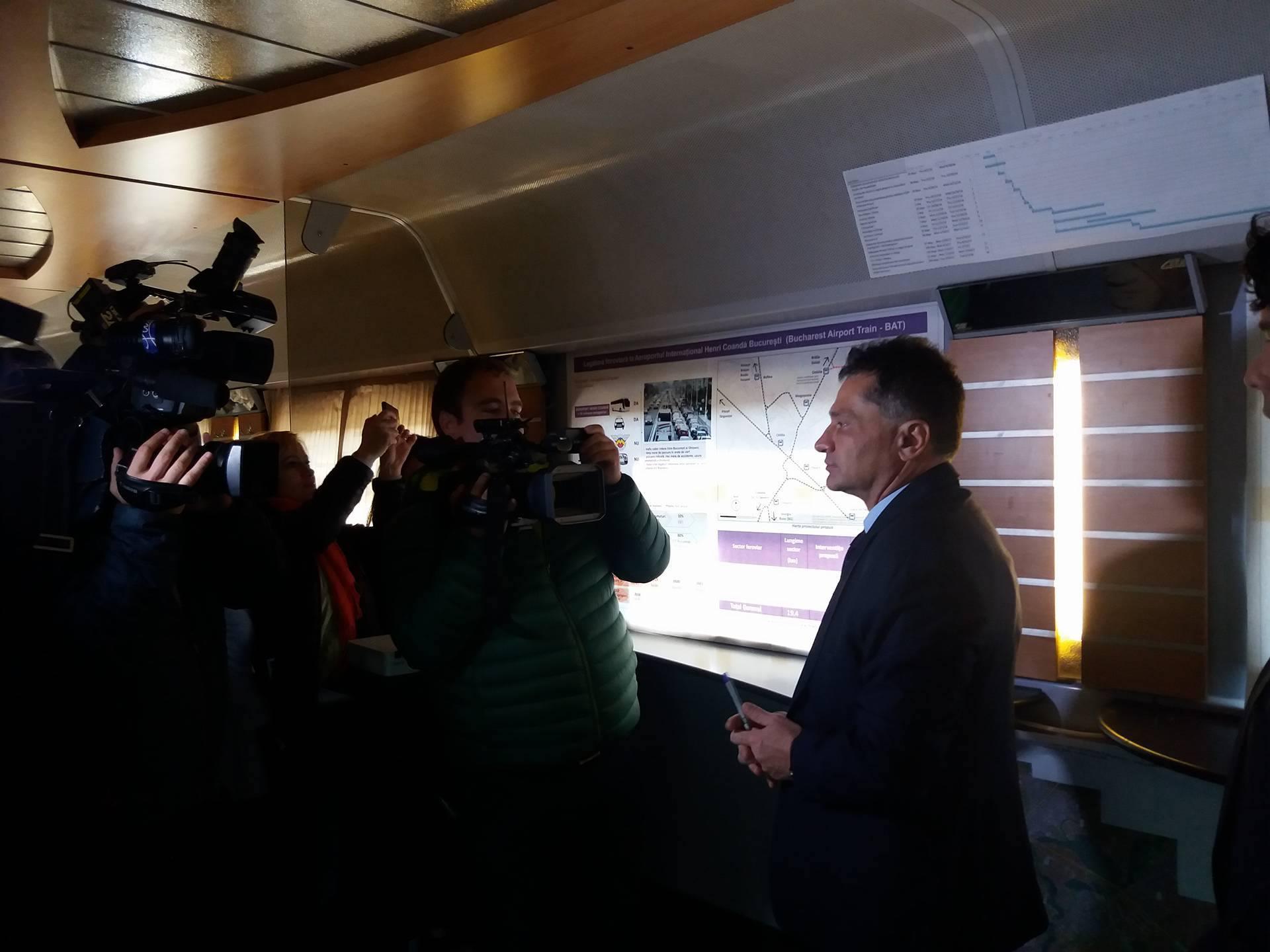 Vom avea tren de la Gara de Nord la Aeroportul Otopeni