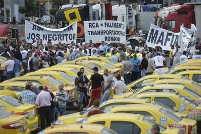 Restricții de trafic în centrul Capitalei. Protest de amploare