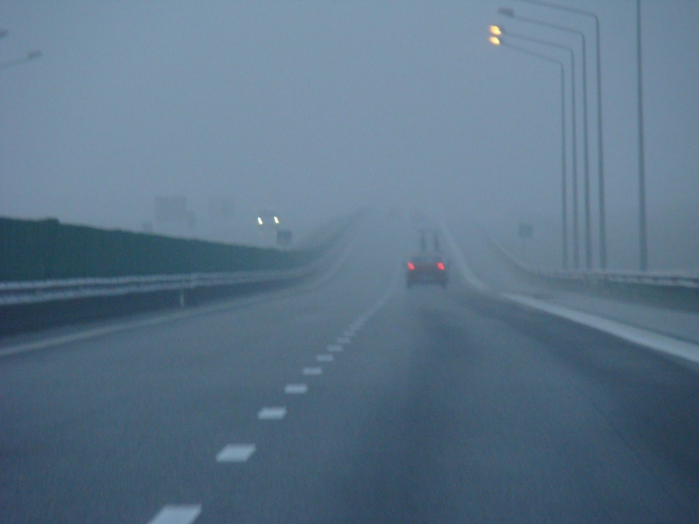 Accident pe autostrada A2
