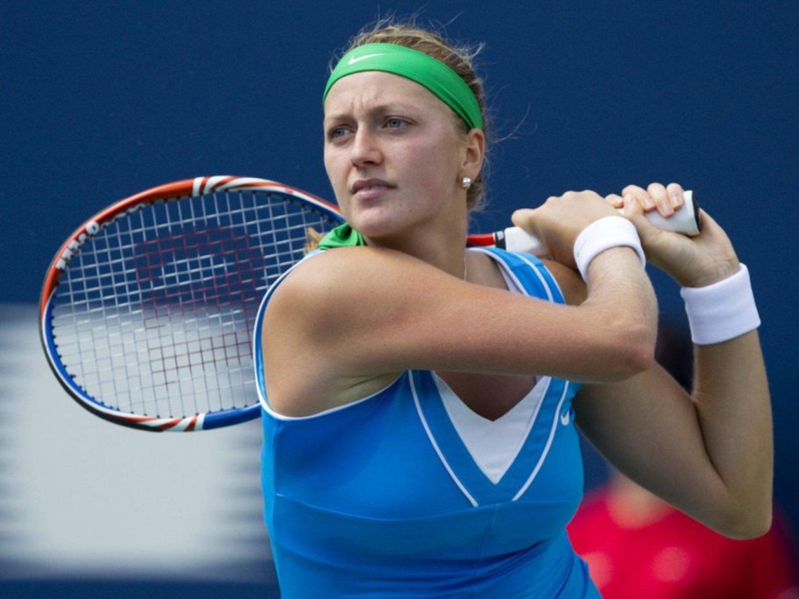 Kvitova se teme de Simona pe zgura de la Madrid