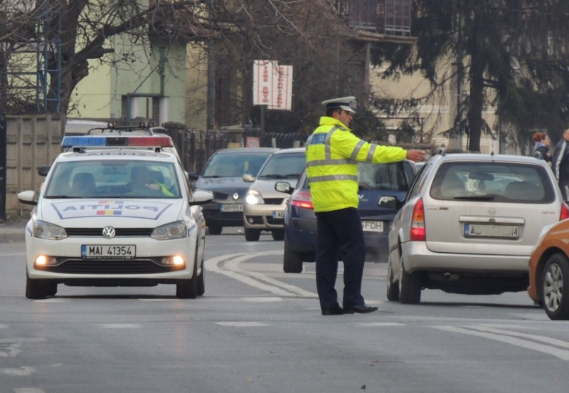 """3.300 de polițiști """"veghează"""" asupra Capitalei în zilele de Paști"""
