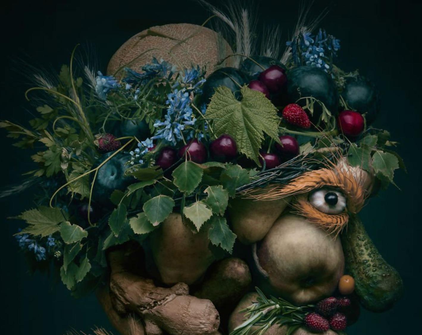 Un artist a uimit internetul cu lucrările sale realizate din... fructe și legume! Nu o să-ți vină să crezi