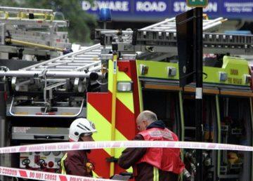 Explozie la metroul din Londra