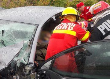 Accident cu patru mașini pe DN2