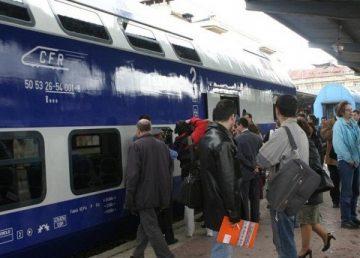 Noul mers al trenurilor de călători intră de astăzi în vigoare