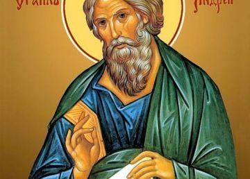 Sfântul Apostol Andrei, ocrotitorul României. Peste 700.000 de români îi poartă numele