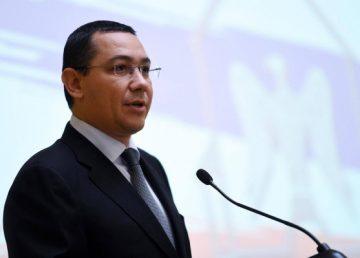 Ponta i-a pus gând rău lui Dragnea