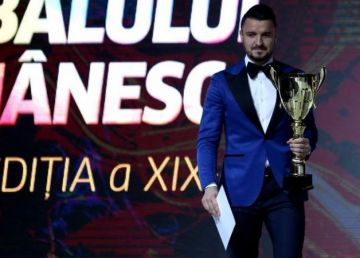 Constantin Budescu, fotbalistul anului 2017 la Gala Fotbalului Românesc