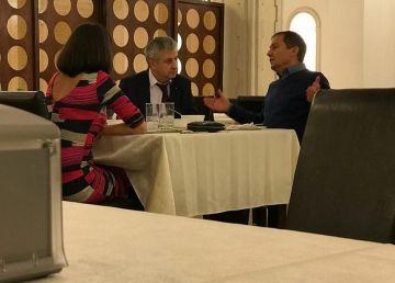 Daniel Morar (CCR) explică ce a căutat la aceeași masă cu Florin Iordache (PSD)