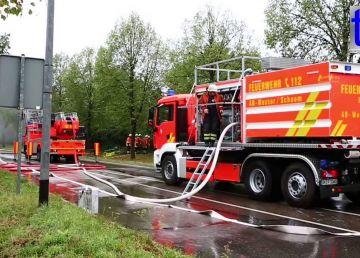 Români incendiați în Germania