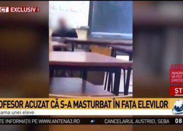 Video revoltător. Un profesor de religie a făcut gesturi obsecene în fața elevilor. Reacția ministrului