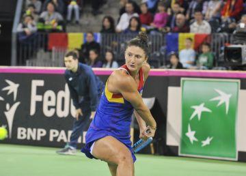 Irina Begu a debutat cu stângul la turneul de la Miami