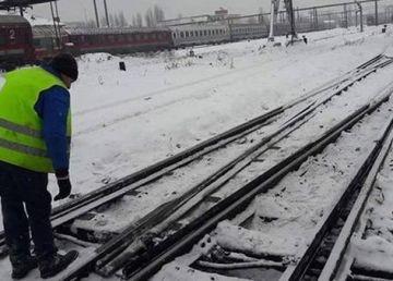 UPDATE: 58 de trenuri anulate